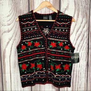 Christmas Vintage Christmas sweater vest